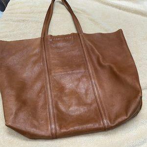 Banana republic Leather large shoulder bag
